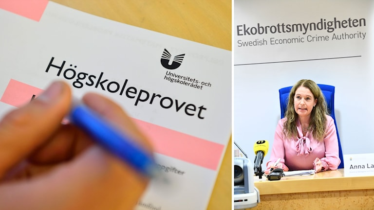 Högskoleprov och Kammaråklagare Anna Lander