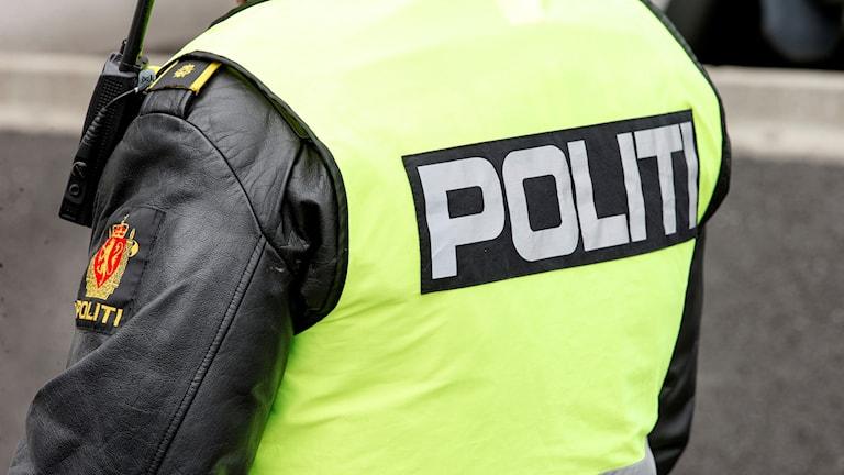 Arkivbild. Norsk polis.