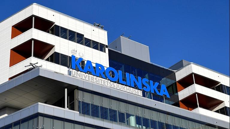 Logotyp Karolinska.