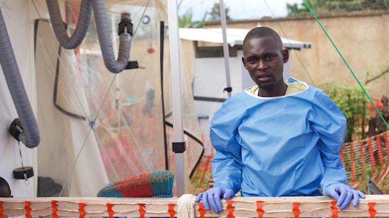 Ebolasjuka Kambale Kombi Vianey var en av de första att räddas av de nya medicinerna som testats i Demokratiska republiken Kongo
