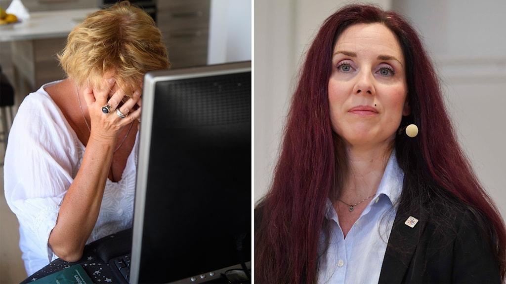 Ulrika Lindstrand, förbundsordföranden för Sveriges Ingenjörer.