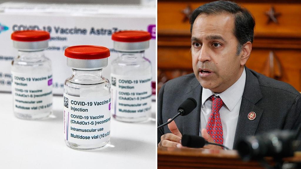 Kongressledamoten: USA måste dela med sig av vaccinet