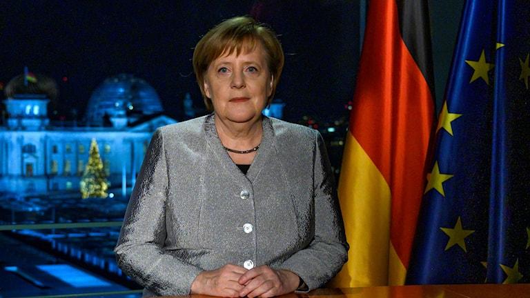 Angela Merkels nyårstal.