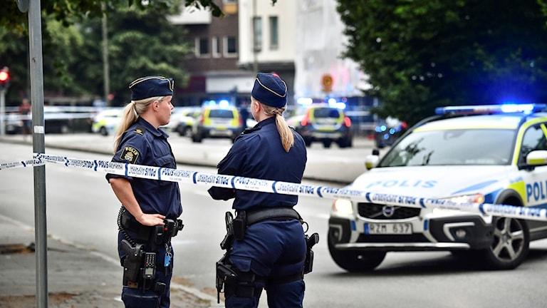 Skottlossning i centrala Malmö