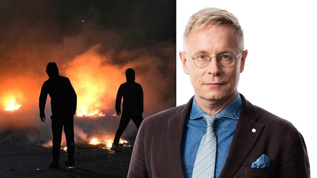 Daniel Alling, Sveriges Radios korrespondent i London.