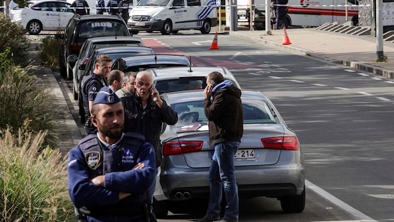 belgien polisattack