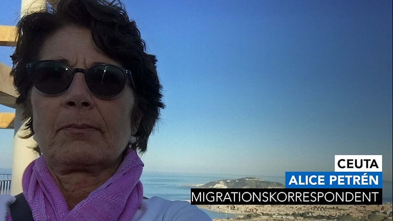 Sveriges Radios migrationskorrespodent Alice Petrén.