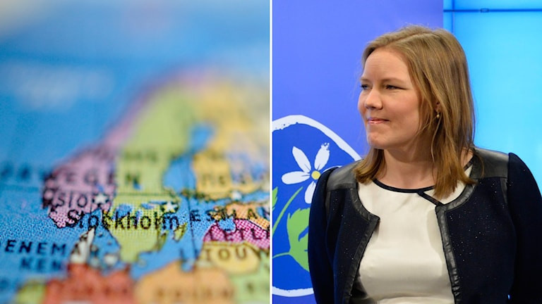 Emma Henriksson, KD:s andra vice ordförande.