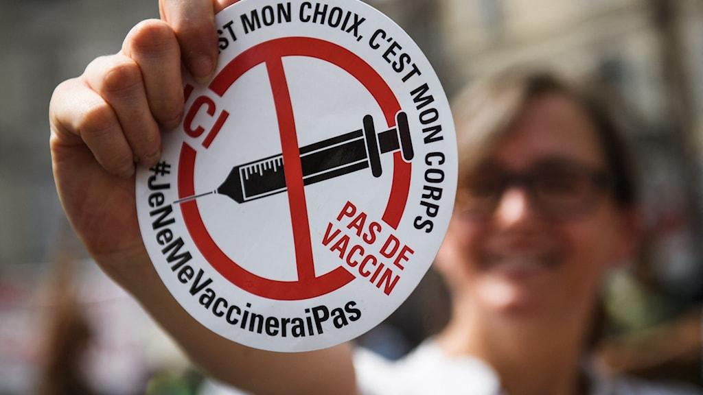 Nya hårda vaccinlagen i Frankrike