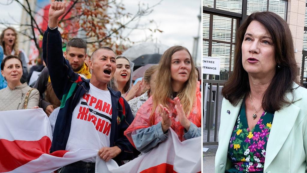 Beskedet: Sanktioner mot politiker i Belarus