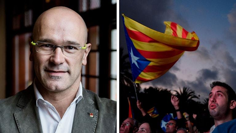 Raül ROmeva är den katalanske utrikesministern