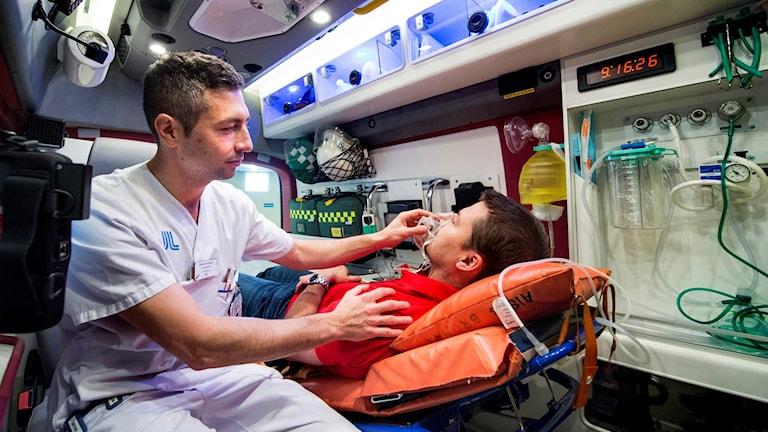 Robin Hofmann vid Södersjukhuset är en av läkarna bakom studien.
