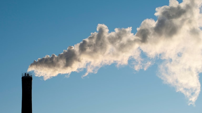 Skorsten utsläpp klimat