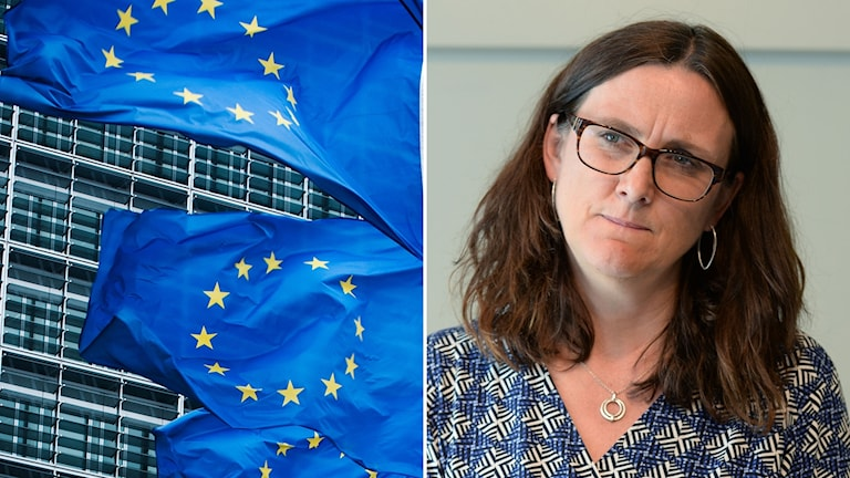 EU:s handelskommissionär Cecilia Malmström