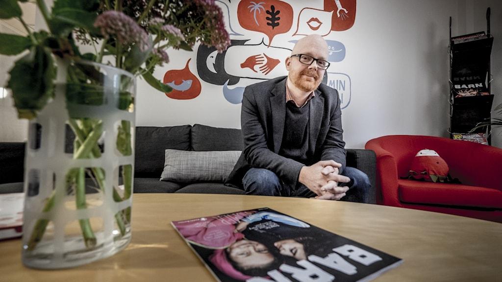 Rädda barnens Sverigechef Ola Mattsson.