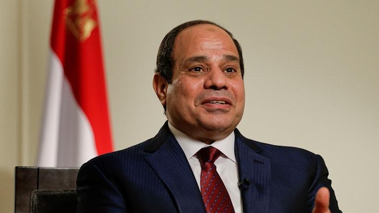 Egyptens president Abdel Fattah el Sisi