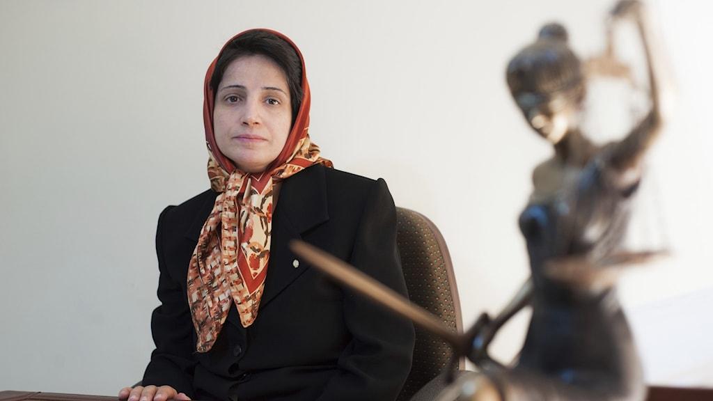 Människorättsadvokaten Nasrin Sotoudeh