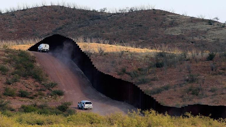Färre grips vid USA:s gräns