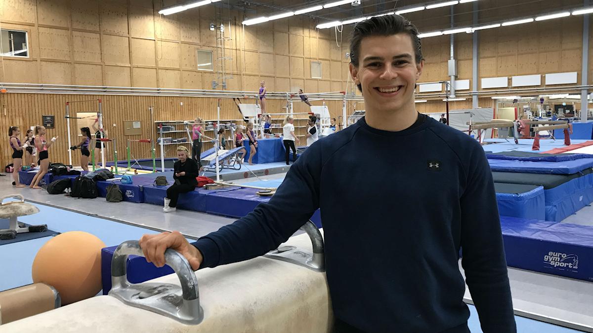 William Broman, landslagsgymnast.