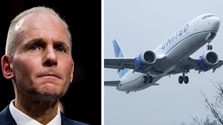 Boeing vd avgår med omedelbar verkan