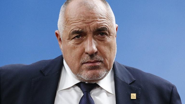 Bulgariens premiärminister Boiko Borisov