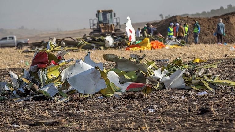 flygkraschen i Etiopien