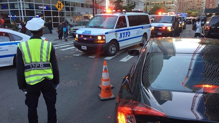 Ekots Pablo Dalence befann sig på södra Manhattan när händelsen ägde rum.