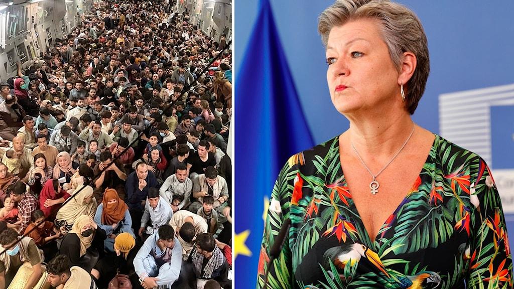 Ylva Johansson, EU:s inrikes- och migrationskommissionär