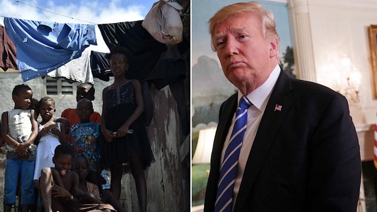 I USA har Trumpadministrationen beslutat att omkring 60 000 haitier som vistas i USA måste återvända till önationen.