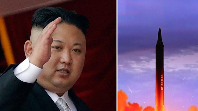 Arkivbild. Kim Jong-Un.