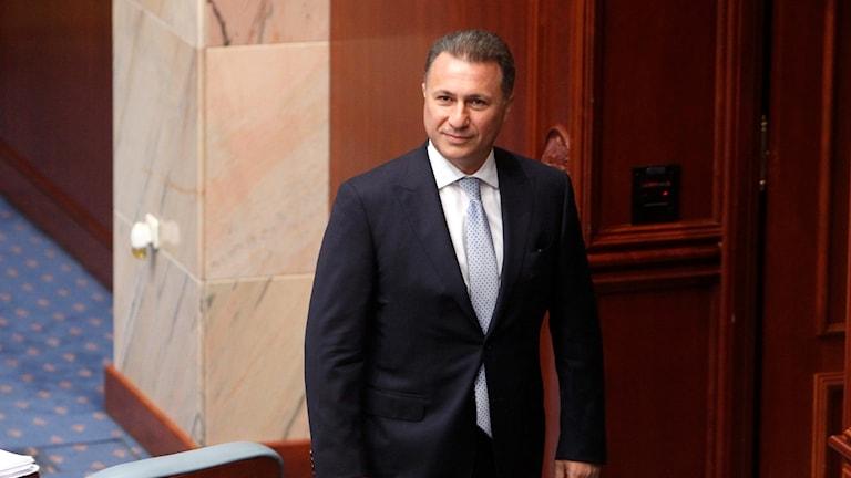Macedonia Ex-Prime Minister