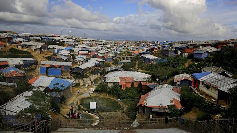 Flyktingläger för rohingyer i Kutupalong