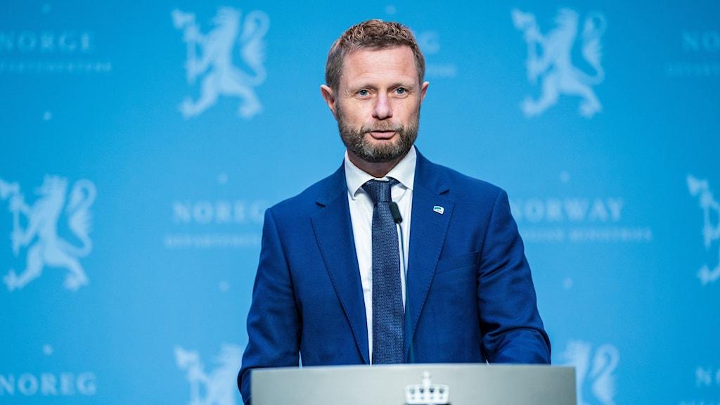 Norge säger hälsominister Bent Höie