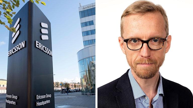 Telecom Ericsson och Ekonomiekots chef Anders Billing