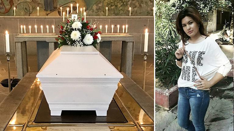 قتل مرزية على يد زوجها في السويد
