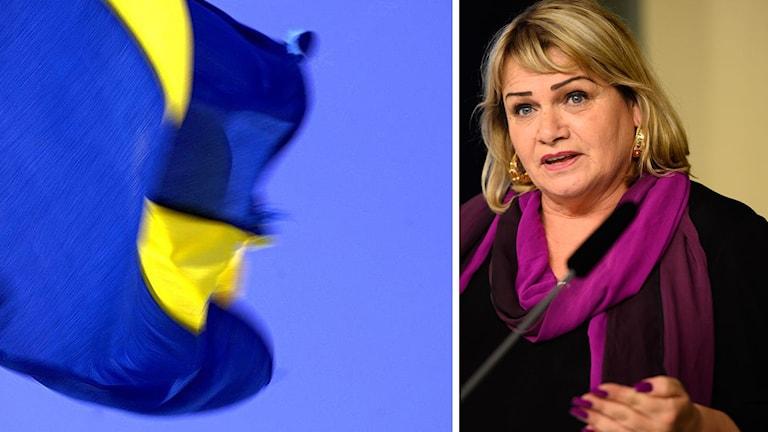 Soraya post. ledamot i kommissionen. Foto: Izabelle Nordfjell/Hasse Holmberg/TT.