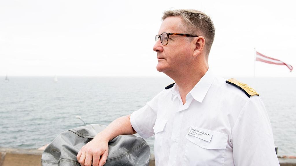 Gunnar Karlson, chef för den militära underrättelse- och säkerhetstjänsten Must.