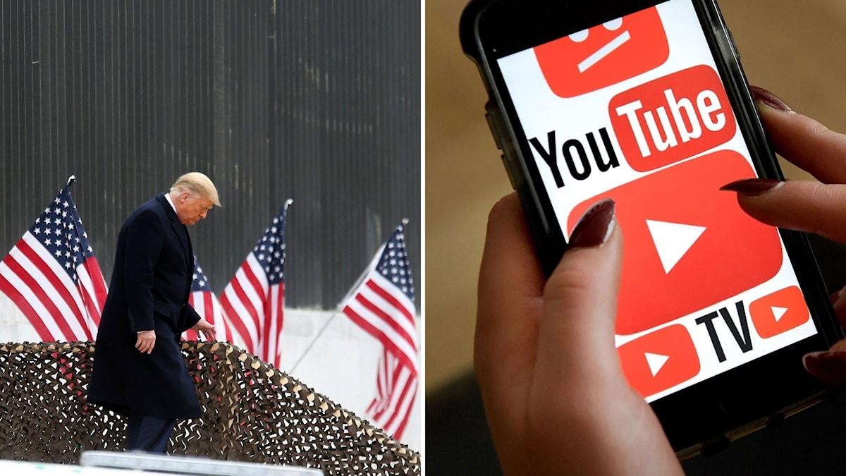 Split Trump Youtube