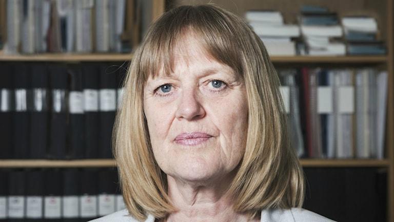 Brottsofferjourens generalsekreterare Eva Larsson.