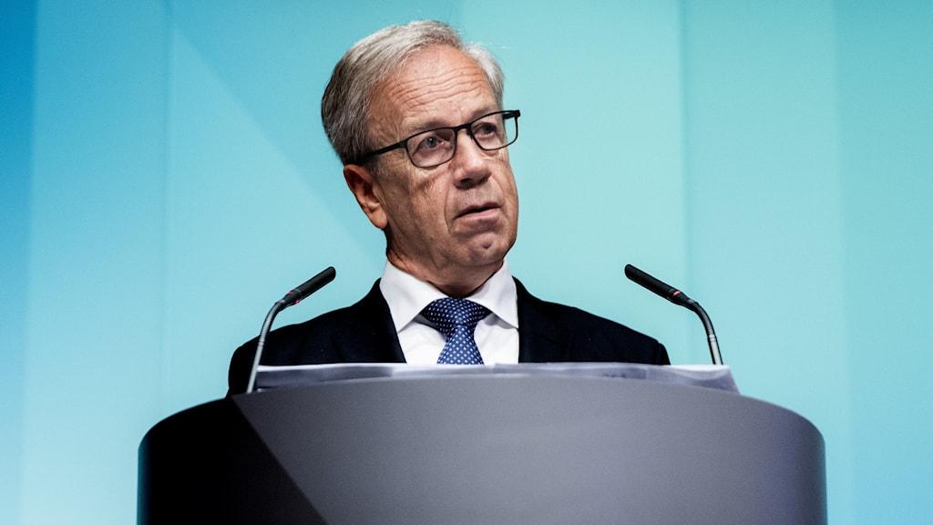 Norges centralbankschef Øystein Olsen.