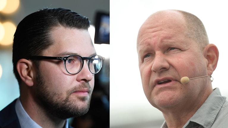 Jimmie Åkesson och Dan Eliasson