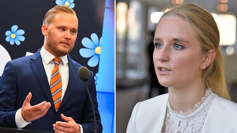 Henrik Vinge och Ebba Hermansson