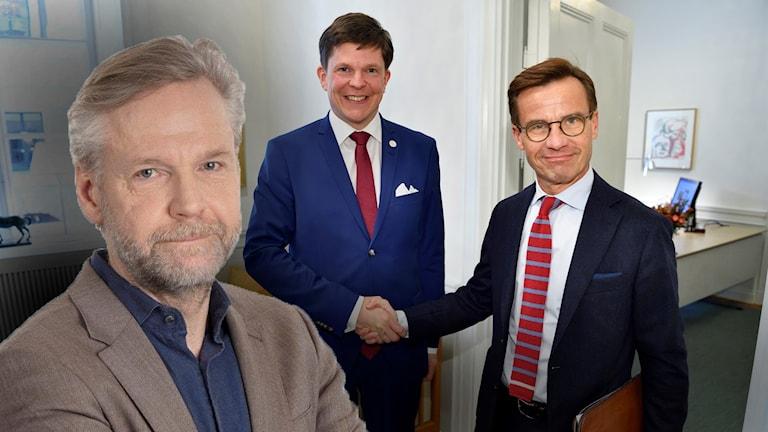Facit av den första dagens talmanssamtal verkar vara att en dörr stängts utan att någon ny öppnats, säger Ekots Tomas Ramberg.
