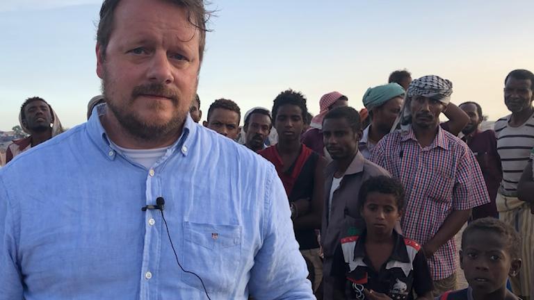 Johan-Mathias Sommarström om sin resa i Jemen och om att rapportera från krig.