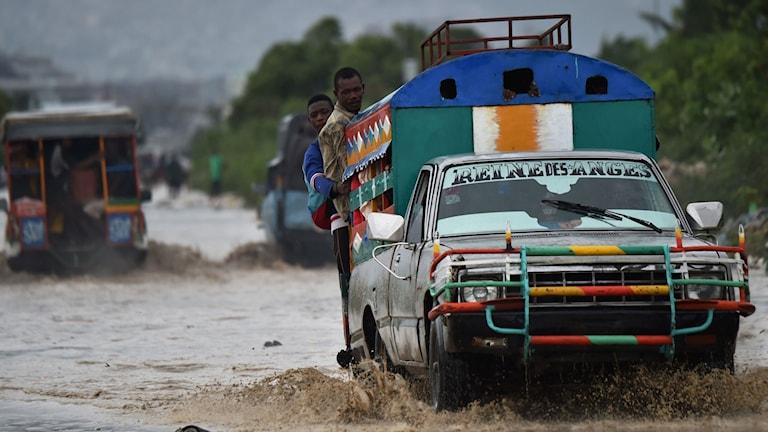 Efter Orkanen på Haiti