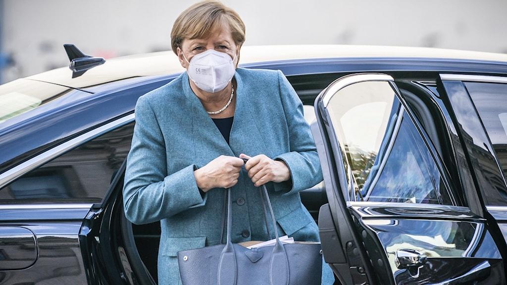 Tyska förbundskanslern Angela Merkel