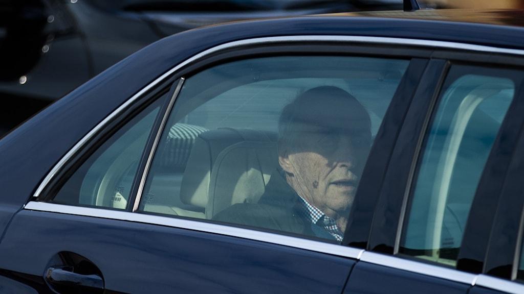 Efter andningsproblemen: Norske kungen utskriven från sjukhus