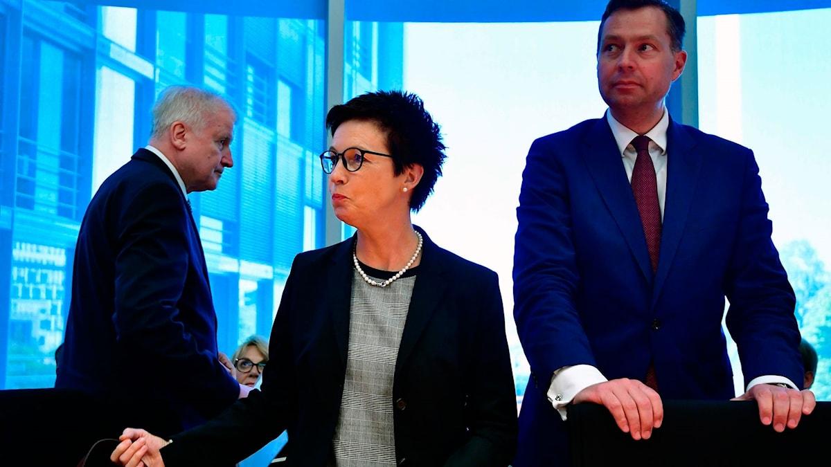Jutta Cordt är chef för migrationsmyndigheten.