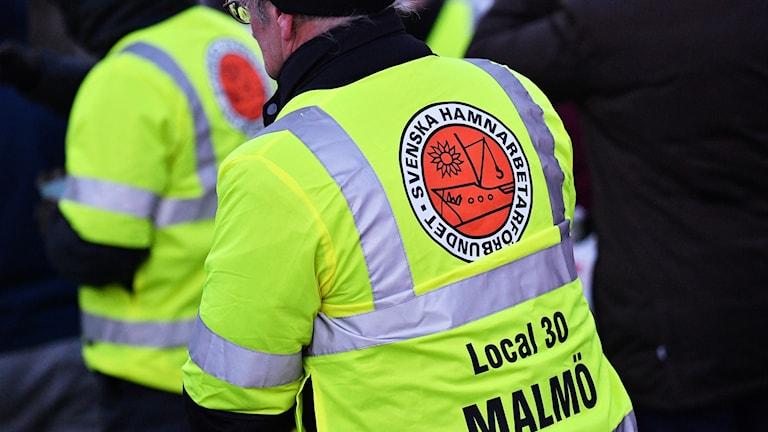 Medlem i Hamnarbetarförbundet