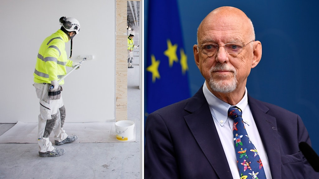 Sveriges EU-minister Hans Dahlgren.